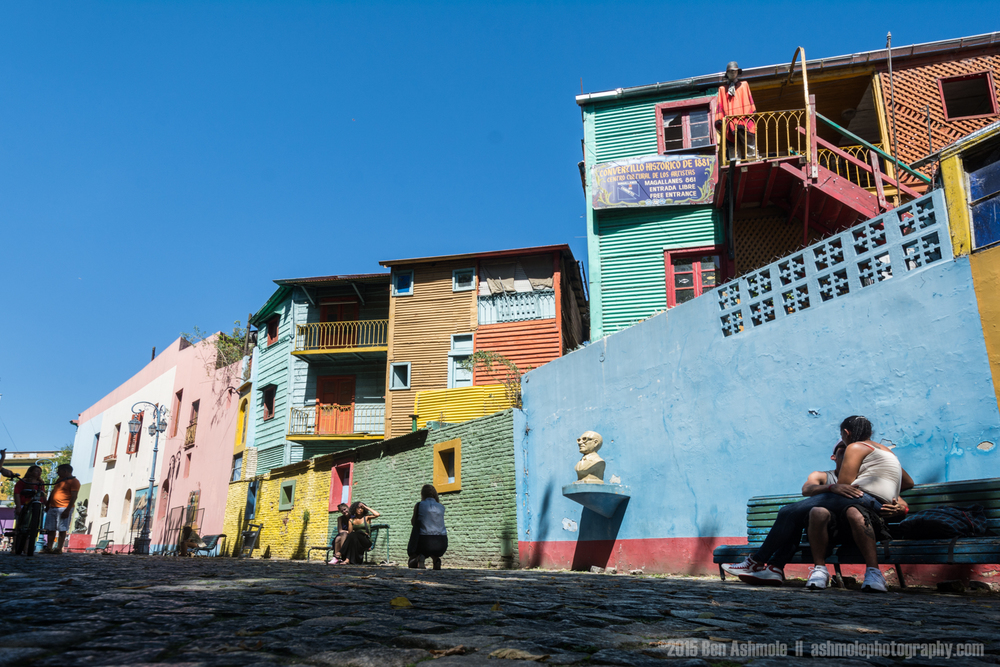 Colourful Street, Caminito, Buneos Aires, Argentina