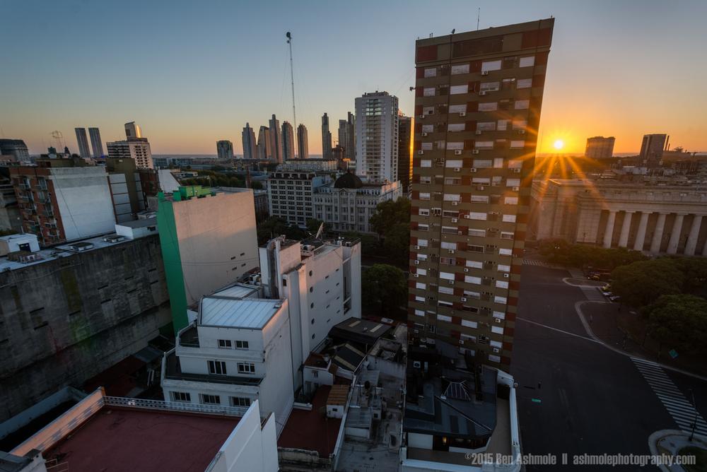Buenos Aires Sunrise, Argentina