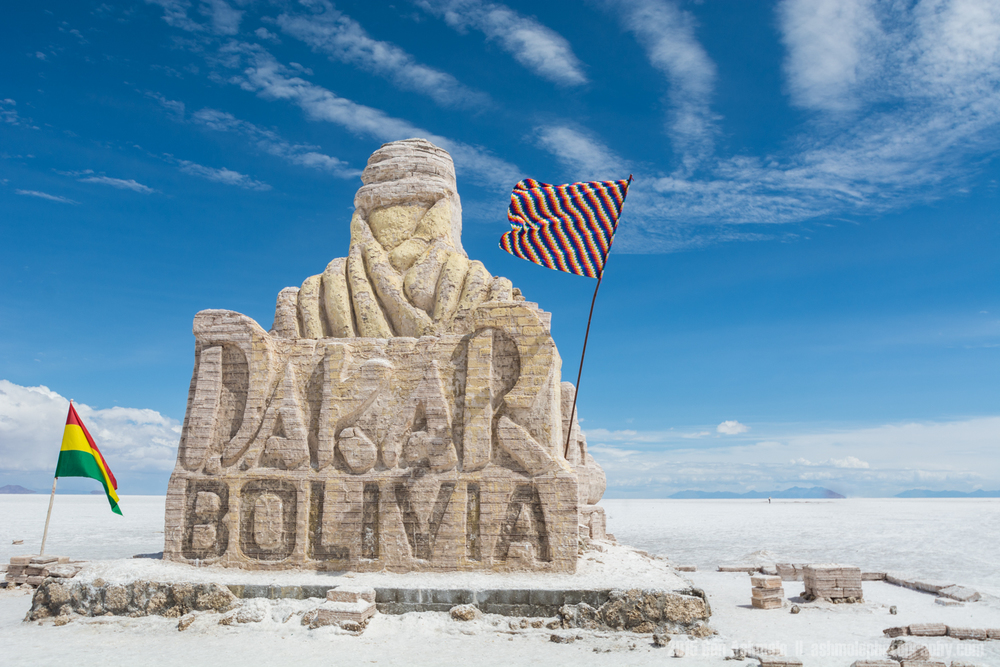 Dakar Sculpture, Uyuni Salt Flat, Bolivian Highlands