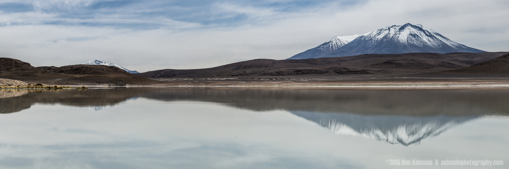 Lake Chiar Kota Panorama, Bolivian Highlands