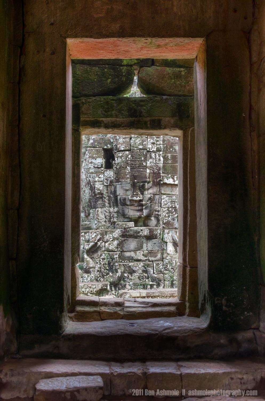 Temple Doorway, Angkor, Cambodia, Ben Ashmole