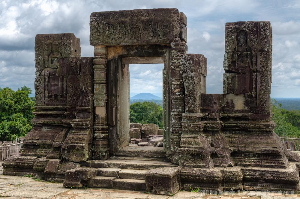 Ancient Doorway, Angkor, Cambodia, Ben Ashmole