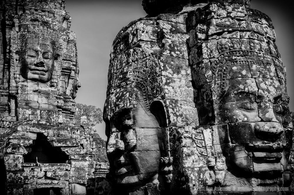 The Faces Of Bayon, Angkor, Cambodia