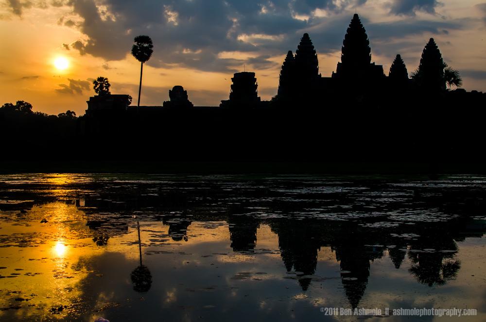 Angkor Wat Sunrise, Cambodia, Ben Ashmole