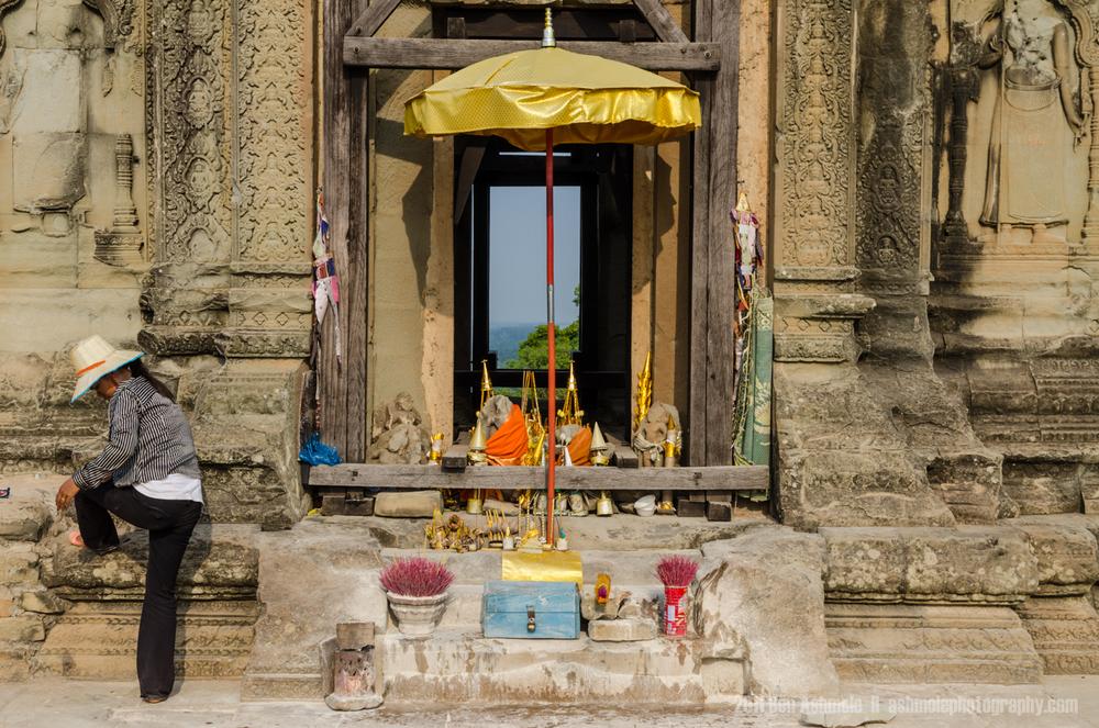 The Makeshift Shrine, Angkor, Cambodia, Ben Ashmole