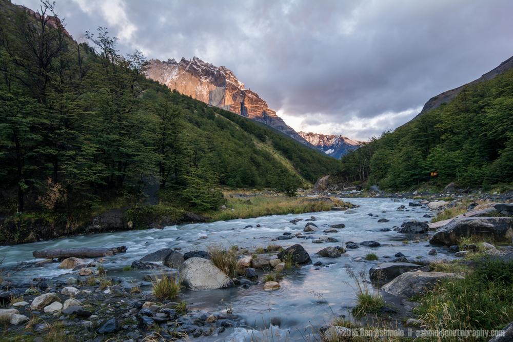 Valle Ascencio, Torres Del Paine, Patagonia, Chile