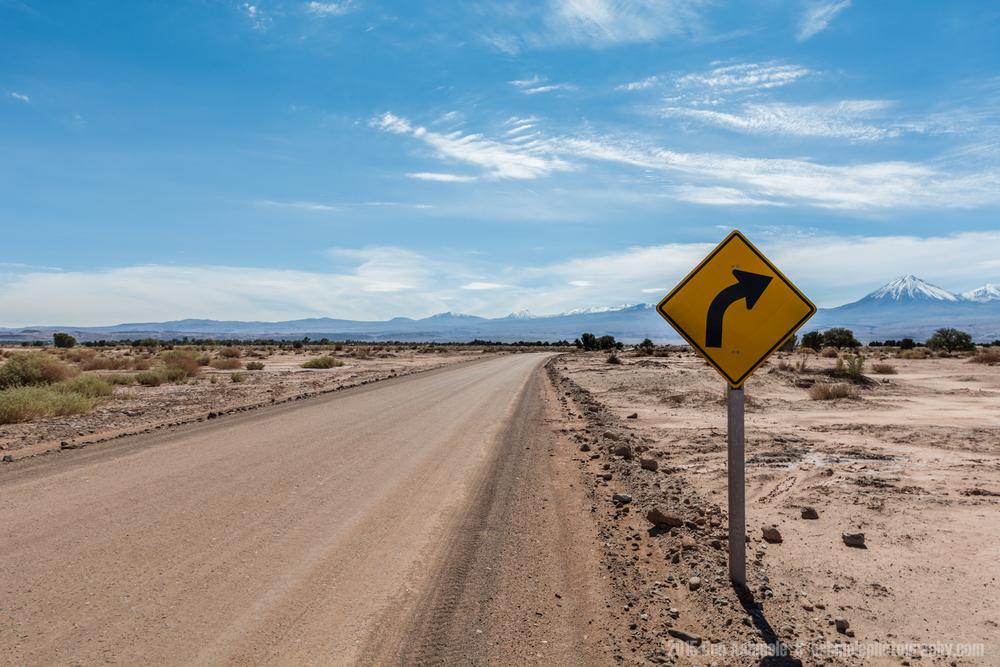 Desert Road 2, San Pedro De Atacama, Chile