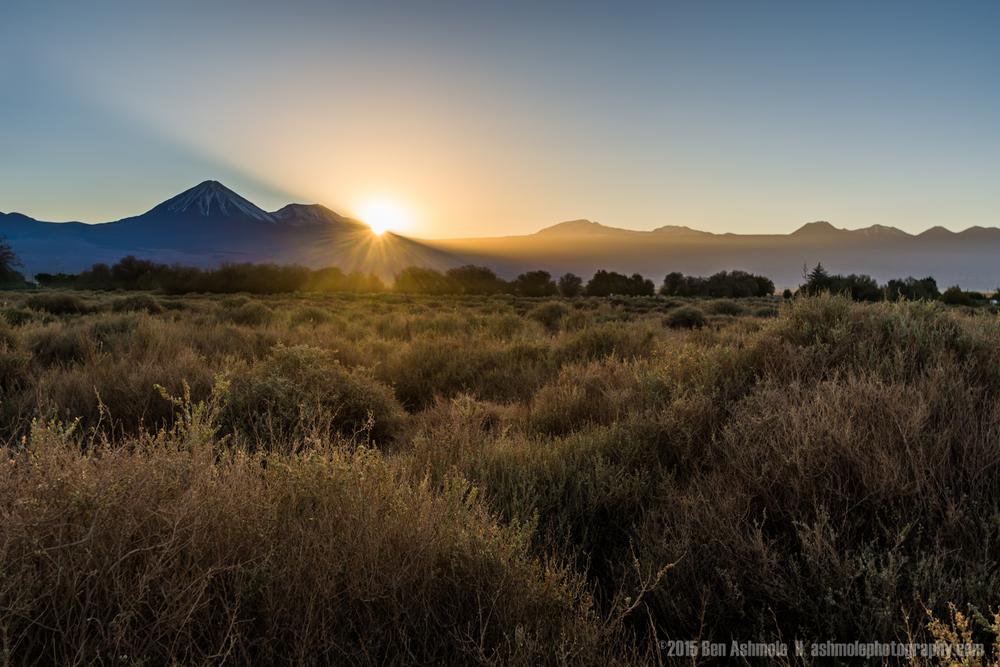 Desert Sunrise, San Pedro De Atacama, Chile