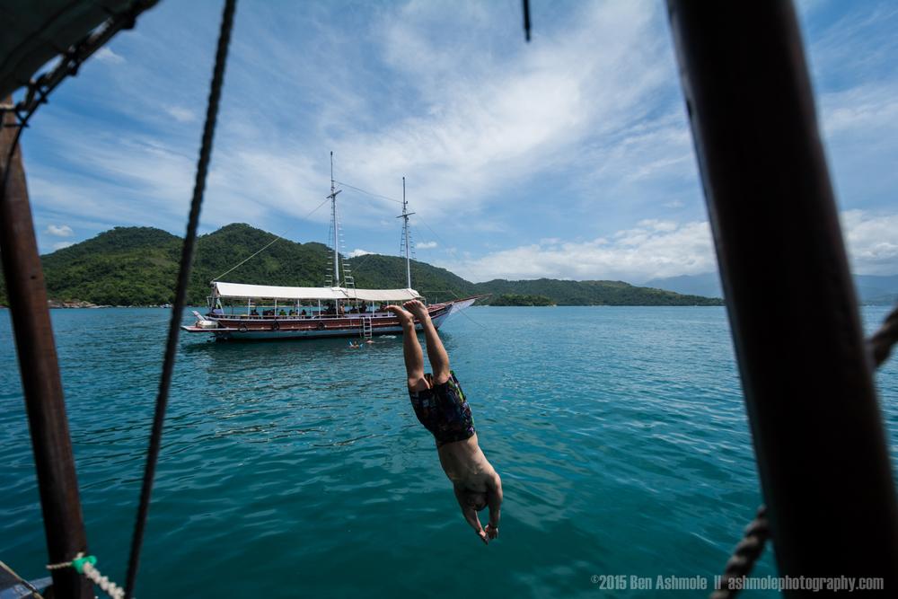 Island Yacht Trip 4, Paraty, Brazil