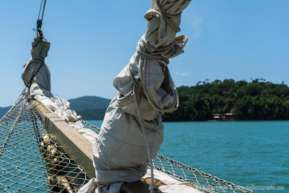 Island Yacht Trip, Paraty, Brazil
