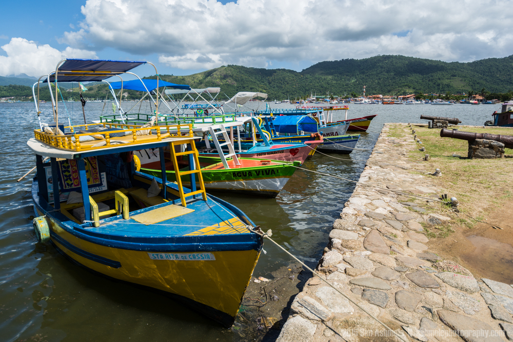 Colourful Boats, Paraty, Brazil