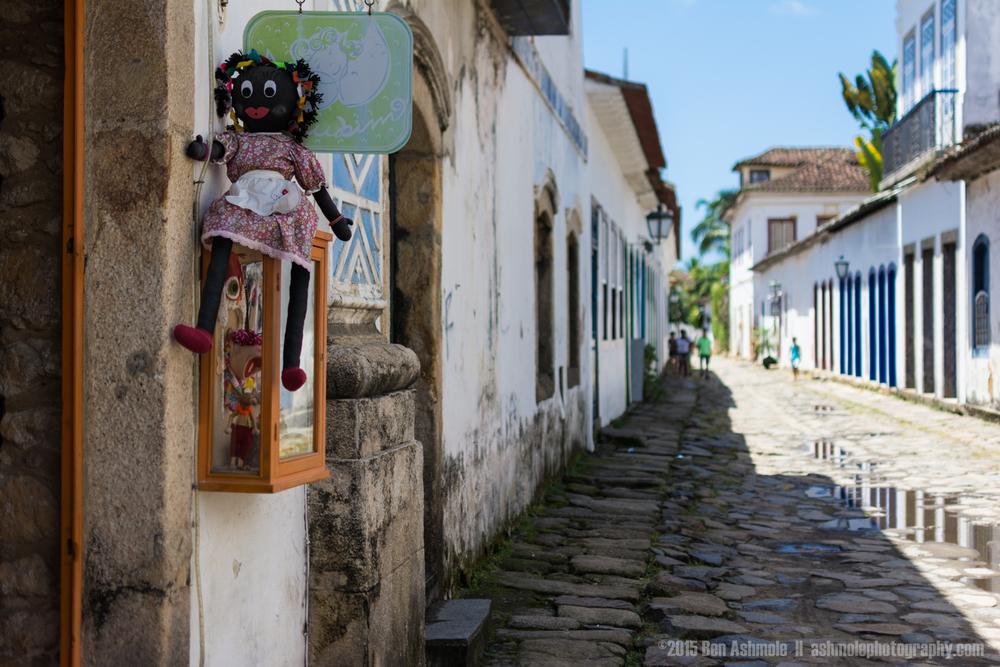Old Town Street 5, Paraty, Brazil