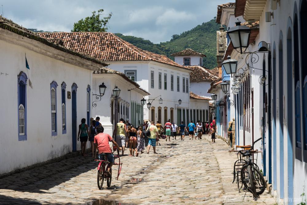 Old Town Street 2, Paraty, Brazil