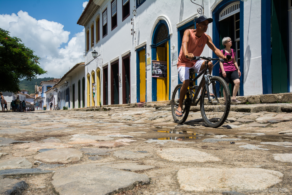 Old Town Street, Paraty, Brazil