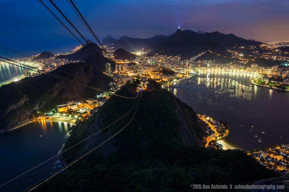 Dusk From Sugar Loaf Mountain 2, Rio De Janeiro, Brazil