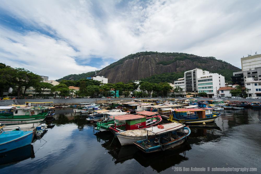 Urca Harbour, Rio De Janeiro, Brazil