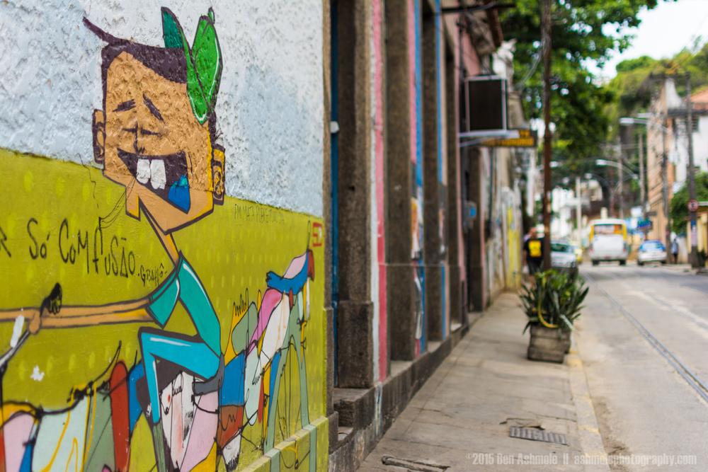 Santa Teresa Wall Art, Rio De Janeiro, Brazil