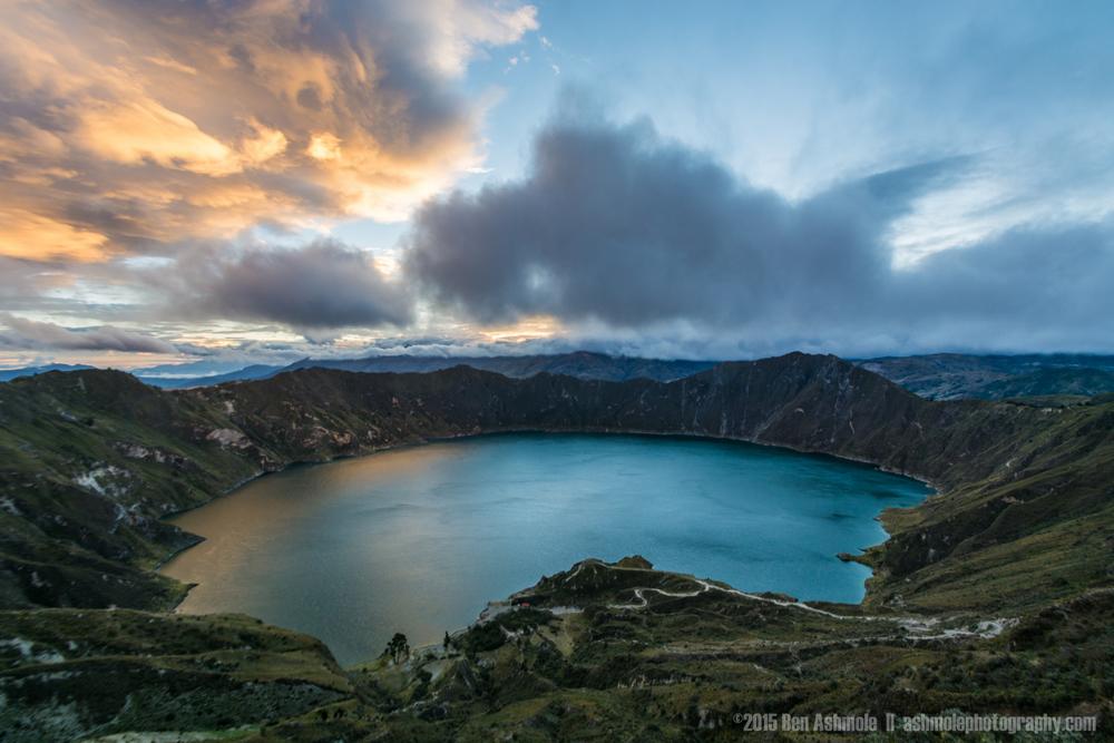 Laguna Quilotoa Sunrise, Ecuador