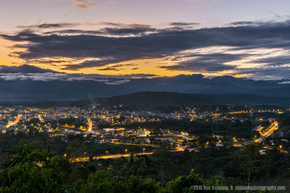 Tena Sunset, Ecuador