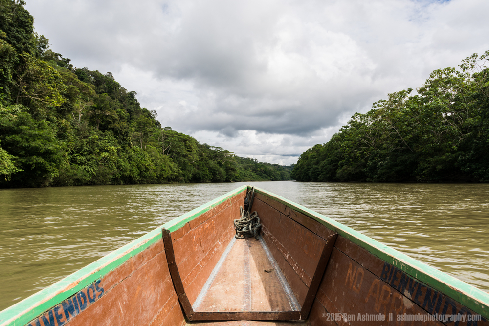Boat Ride, Amazon Rainforest, Tena, Ecuador