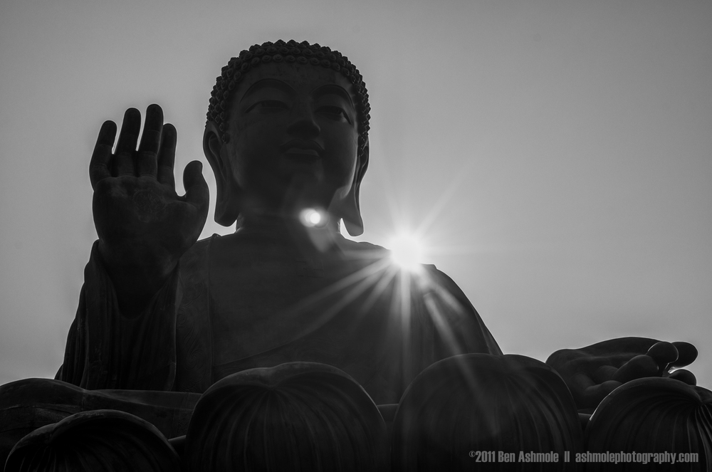 The Big Buddha and the Sun, Hong Kong, China, Ben Ashmole