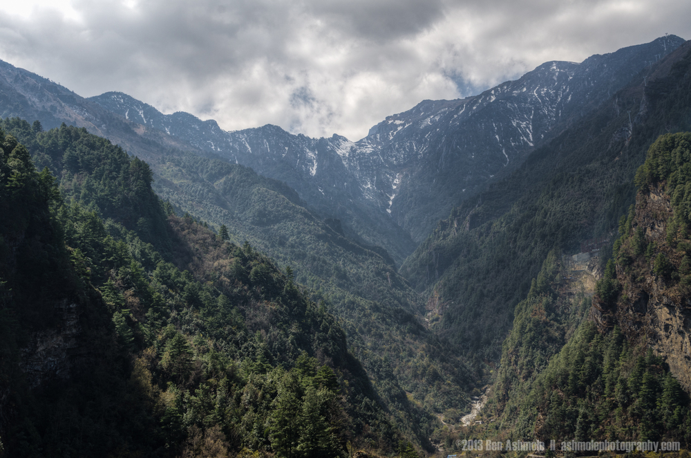 The Cangshan Mountains, Yunnan Province, China