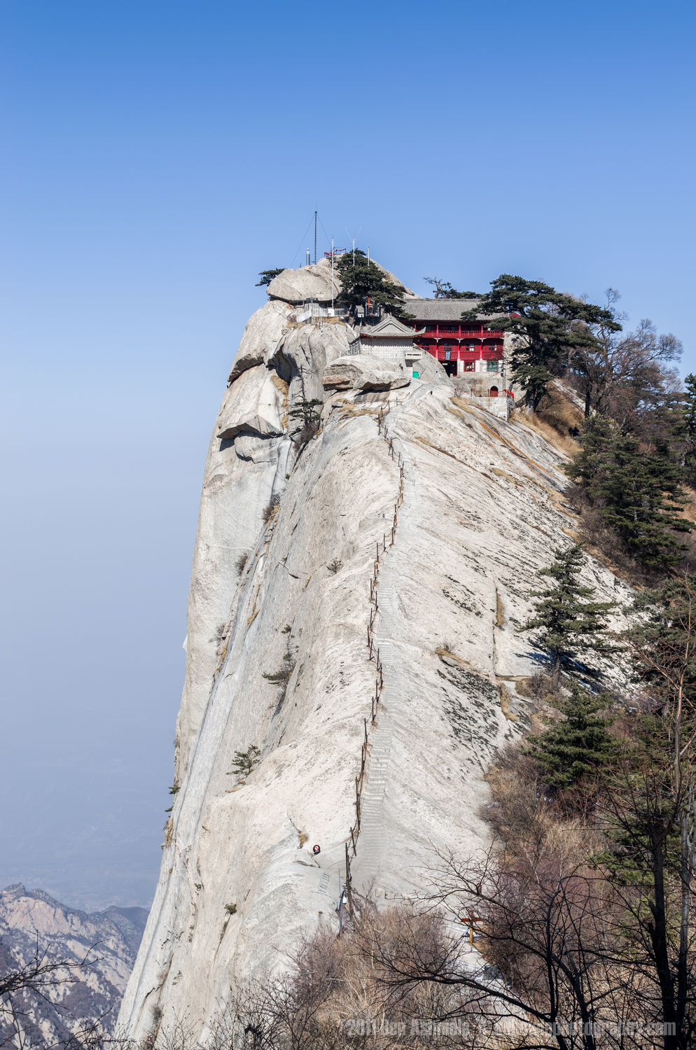 The Lonely Temple, Hua Shan, Shaanxi Province, China, Ben Ashmol