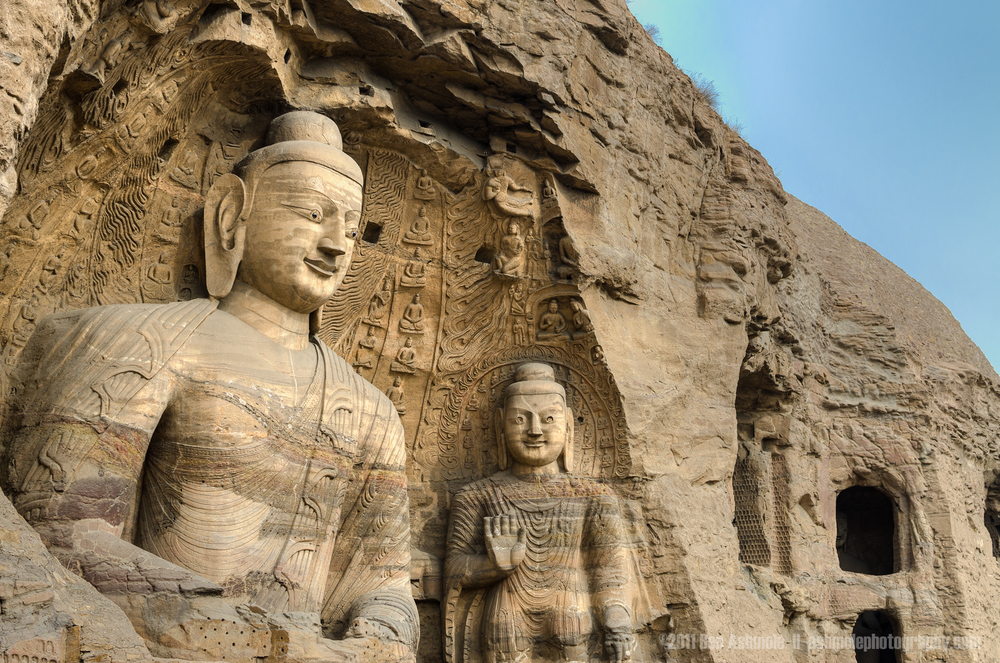 Giant Carved Buddhas, Yungang Caves, Shanxi Province, China, Ben