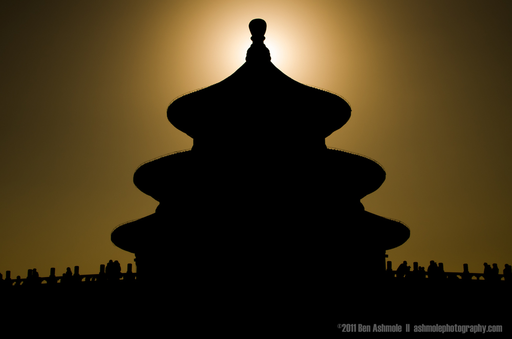 Temple of Heaven Eclipse, Beijing, China, Ben Ashmole