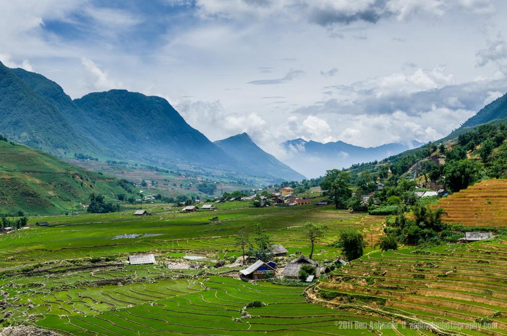 Rice Terrace Valley, Sapa, Vietnam, Ben Ashmole