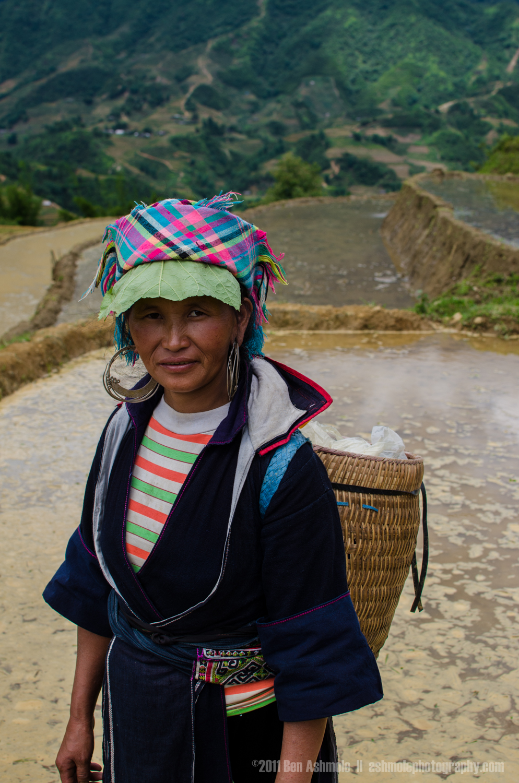 Hill Tribeswoman, Sapa, Vietnam, Ben Ashmole