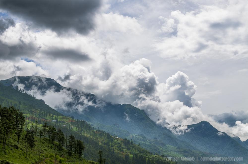 Rolling Cloud, Sapa, Vietnam, Ben Ashmole