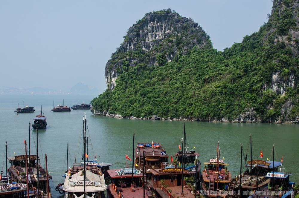 The Boats, Ha Long Bay, Vietnam
