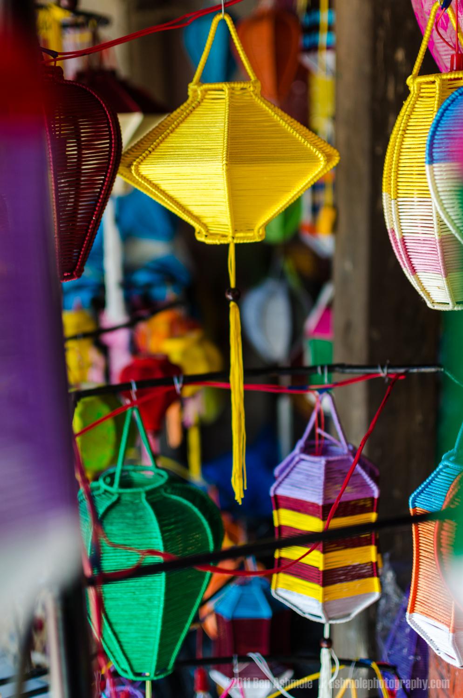 Vietnamese Lanterns 2, Hoi An, Vietnam, Ben Ashmole
