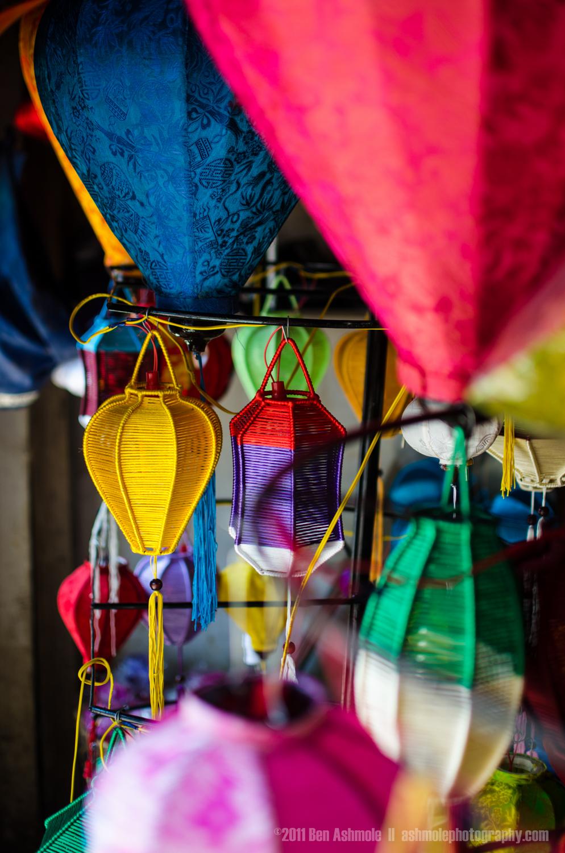 Vietnamese Lanterns, Hoi An, Vietnam, Ben Ashmole