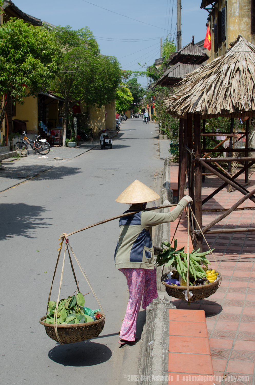 Carrying Fruit, Hoi An, Vietnam