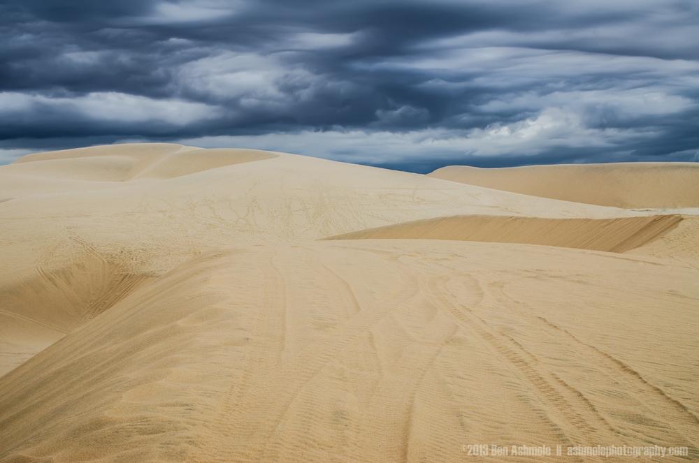 Storm On The Dunes, Mui Ne, Vietnam