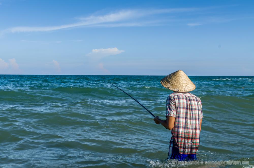 The Sea Fisherman, Mui Ne, Vietnam, Ben Ashmole