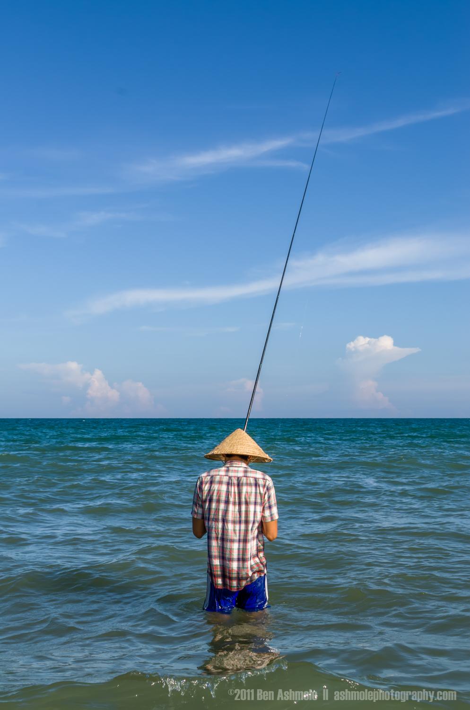 The Sea Fisherman Portrait, Mui Ne, Vietnam, Ben Ashmole