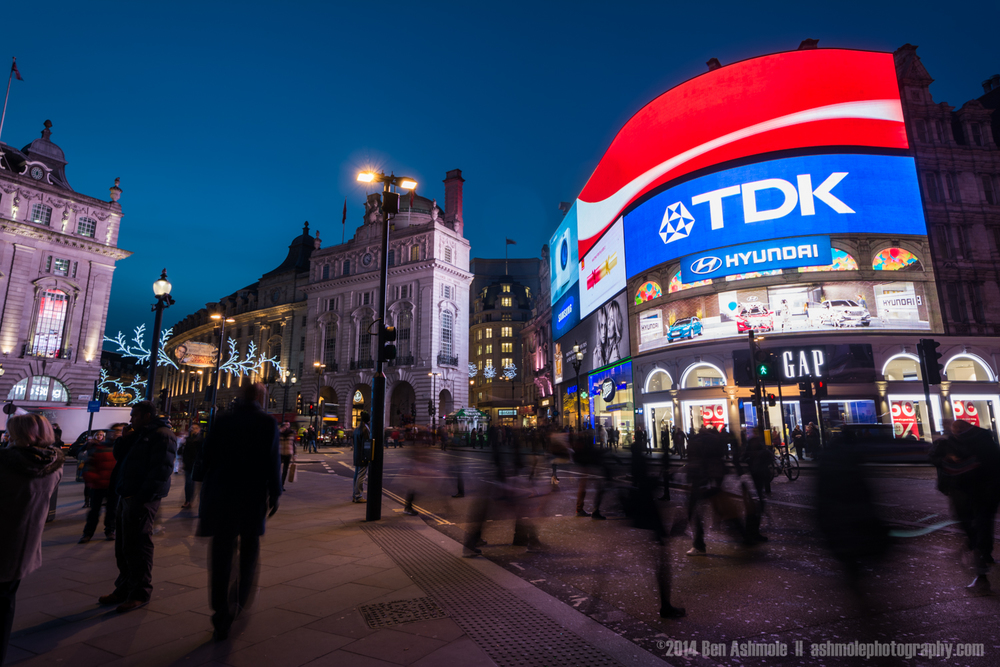 Picadilly Circus, London, UK