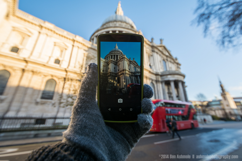Snapshot Of St Paul's Cathedral, London, UK