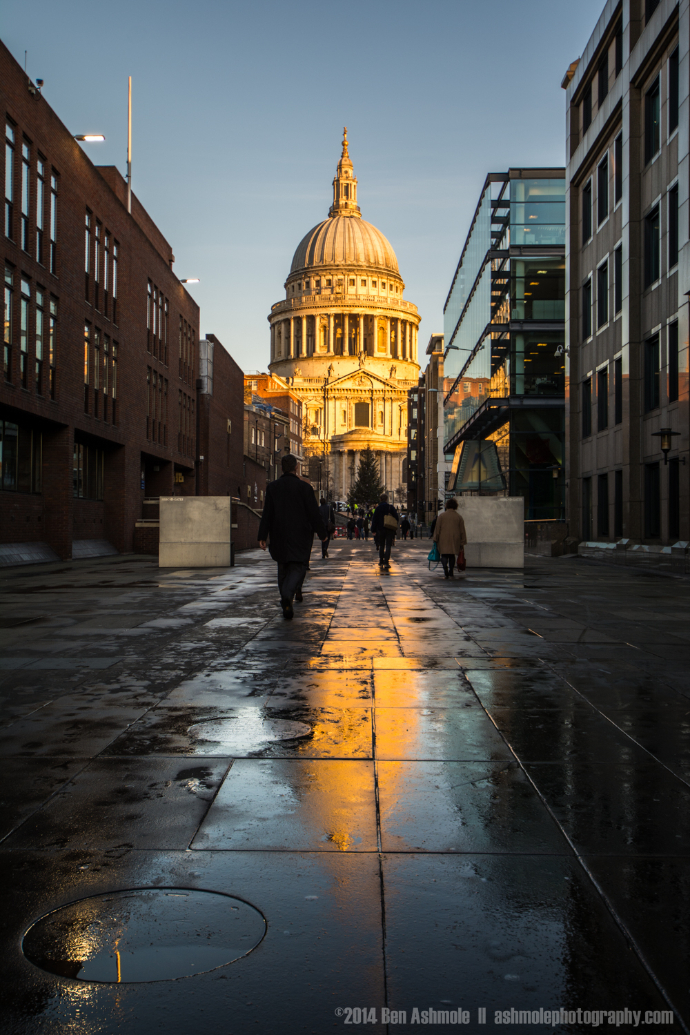St Paul's Reflected, London, UK