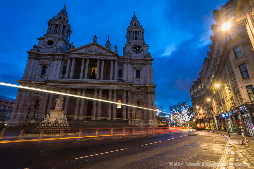 St Paul's During Blue Hour, London, UK