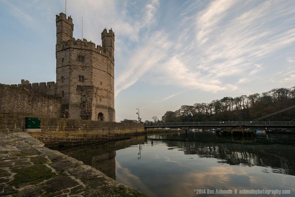 Caernarfon Castle, Wales, UK