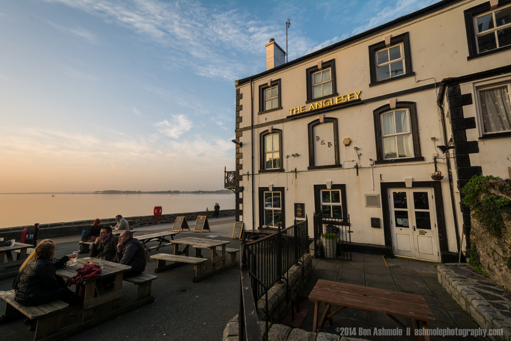 The Anglesey Pub, Caernarfon, Wales, UK