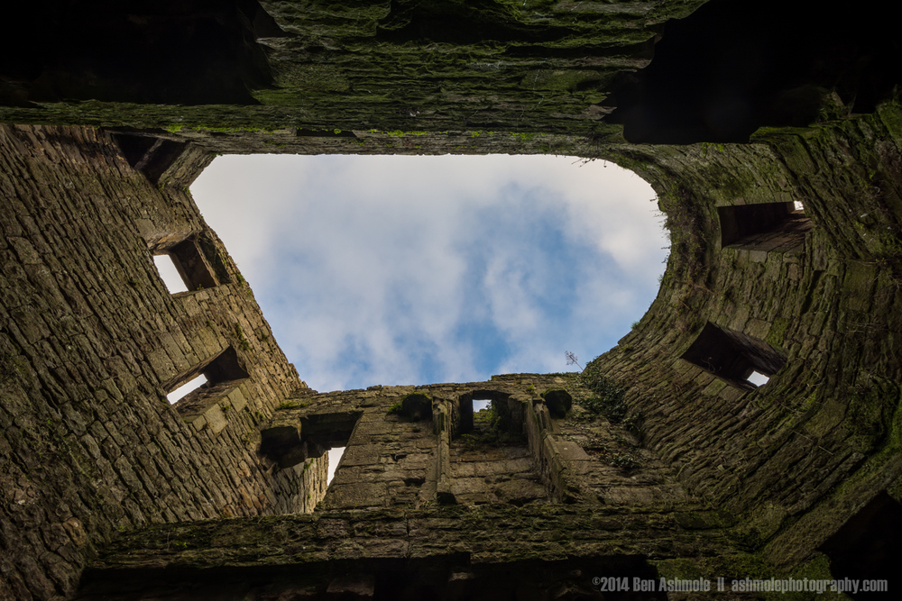 Fortifications, Beaumaris Castle, Wales, UK