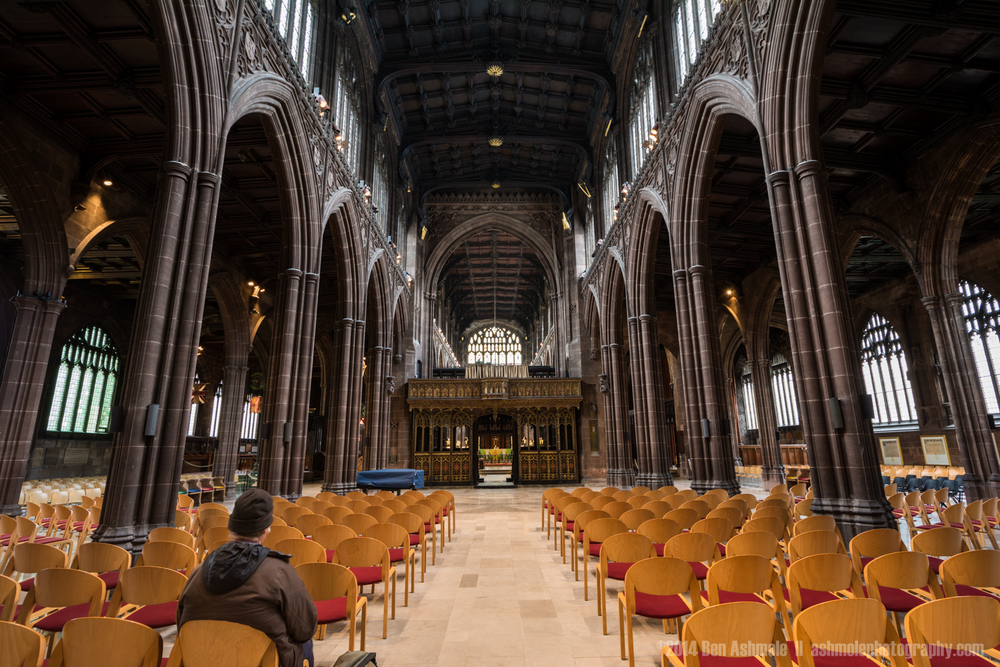 Manchester Cathedral, Manchester, UK