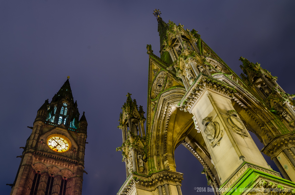 Albert Square, Manchester, UK