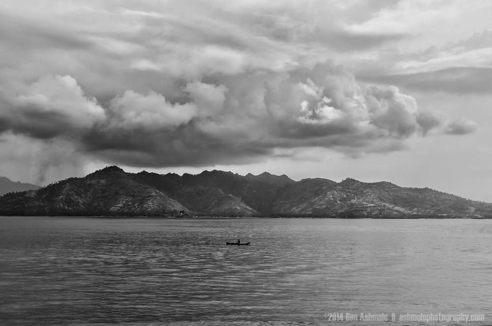 The Lonely Fisherman, Gili Meno, Indonesia