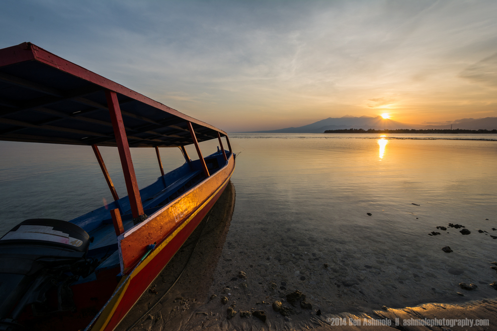 Morning Glow, Gili Trawangan, Indonesia